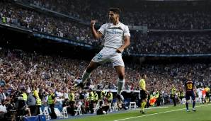 Platz 96: Marco Asensio (Real Madrid) - 84