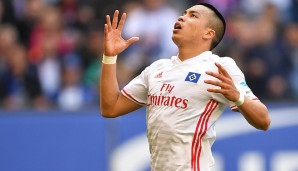 Platz 14: Bobby Wood (Hamburger SV) - 7
