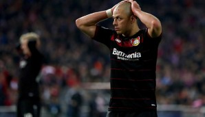 Platz 6: Chicharito (Bayer 04 Leverkusen) - 10