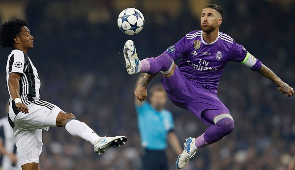 Sergio Ramos - Real Madrid - Champions-League-Sieger 2017