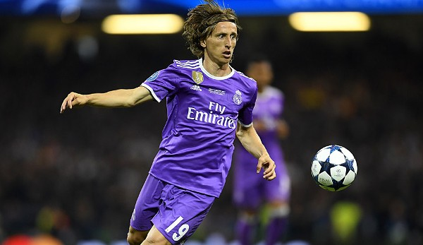 Luka Modric - Real Madrid - Champions-League-Sieger 2017