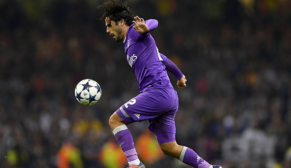 Isco - Real Madrid - Champions-League-Sieger 2017