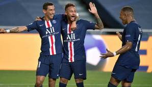 PLATZ 7: PARIS SAINT-GERMAIN - 113,000 Punkte (2015/16: 24,000 | 2016/17: 20,000 | 2017/18: 19,000 | 2018/19: 19,000 | 2019/20: 31,000).