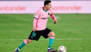Lionel Messi startet in die Champions-League-Saison.