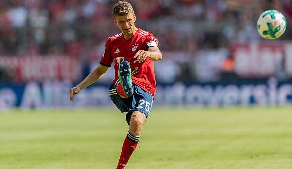 ANGRIFF: Thomas Müller