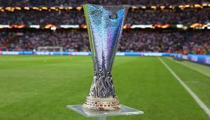 Die Europa-League-Trophäe ging 2017 an Manchester United.