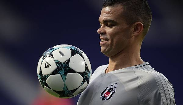 Pepe - Real Madrid/Besiktas