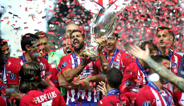 Atletico Madrid hat den UEFA Supercup gewonnen.