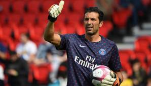 TORHÜTER: Gianluigi Buffon (Paris Saint-Germain)