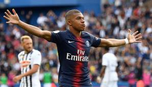 Kylian Mbappe (Paris Saint-Germain)