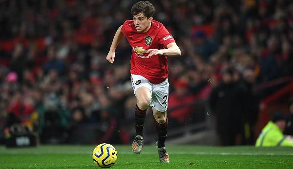 PLATZ 9 - Daniel James (Manchester United): 36.9 km/h.