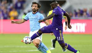 Andre Pirlo im Trikot vom New York City FC