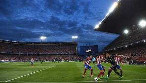 Atletico Madrid trifft auf Real Madrd
