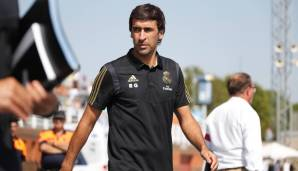 Raul bleibt Real-Coach.