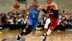 Russell Westbrook hat die Offenses in Europa gelobt