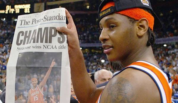 2003: Carmelo Anthony - Syracuse.