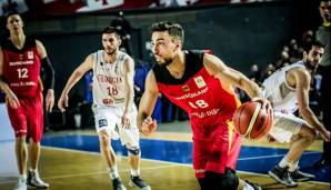 POINT GUARD: Ismet Akpinar (ratiopharm Ulm) - 21 Spiele, 4 Punkte.