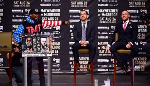 Floyd Mayweather sieht Conor McGregor in der Favoritenrolle