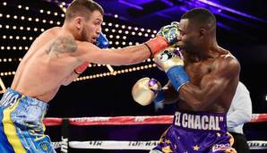Vasyl Lomachenko (l.) besiegte Guillermo Rigondeaux in New York