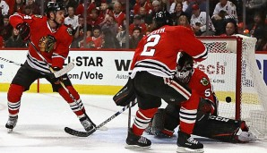 Die Chicago Blackhawks haben in Carolina verloren