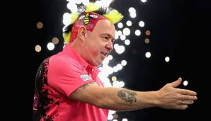 Peter Wright gewann 2017 den Titel bei den UK Open.