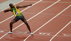 Sprint-Superstar Usain Bolt