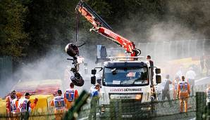 Juan Manuel Correa war am 31. August in Spa in einen schweren Crash verwickelt.