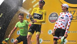 Christopher Froome gewann vier Mal die Tour de France
