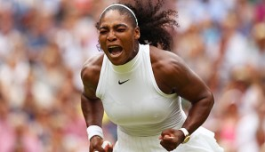 Serena Williams hat in Wimbledon ihren 22. Grand-Slam-Titel gewonnen