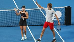Angelique Kerber (li.) und Alexander Zverev (re.)