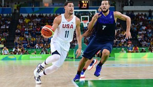Klay Thompson rettete mit 30 Punkten das Team USA