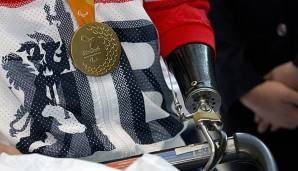 Die Goldmedaille bei den Paralympics