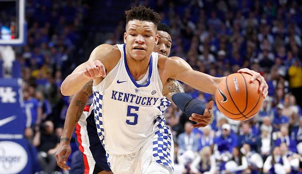 Kevin Knox (Kentucky), 19, Small Forward, Tipp Draft-Position 2018: 10 bis 15.