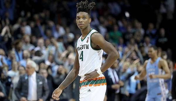 Lonnie Walker IV (Miami), 19, Shooting Guard, Tipp Draft-Position 2018: 15 bis 20.