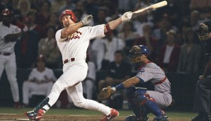 Platz 11: Mark McGwire - 583 HR (1986-2001 für die Oakland Athletics, St. Louis Cardinals)