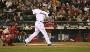 Platz 7: Ken Griffey Jr. - 630 Homeruns (1989-2010 für die Seattle Mariners, Cincinnati Reds, Chicago White Sox)
