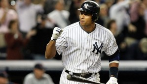 Platz 4: Alex Rodriguez - 696 HR (1994-2016 für die Seattle Mariners, Texas Rangers, New York Yankees)