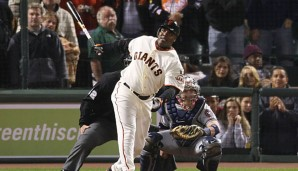 Barry Bonds ist der All-Time-Homerun-Leader der MLB
