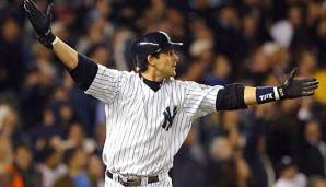 Aaron Boone schlug die Yankees 2003 gegen Boston in die World Series