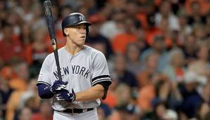 Aaron Judge gewann 2017 den AL Rookie of the Year Award