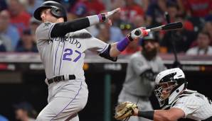 Shortstop: Trevor Story (Colorado Rockies)