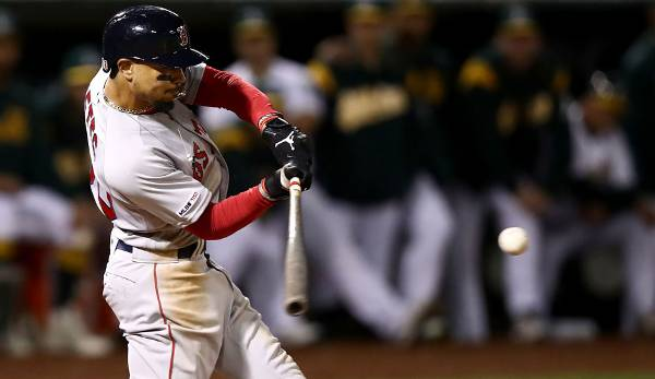 Outfielder: Mookie Betts (Boston Red Sox)