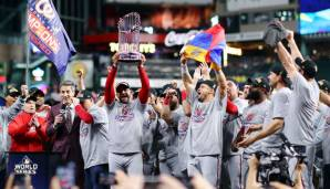 Die Washington Nationals gewannen 2019 die World Series.