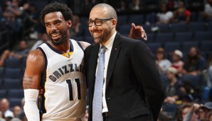 Mike Conley, David Fizdale