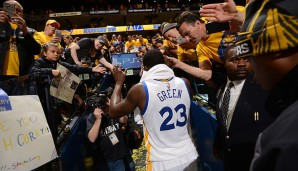 Platz 4: Draymond Green (Golden State Warriors): 575 Punkte