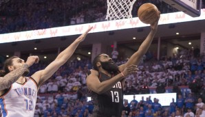 Platz 10: James Harden (Houston Rockets): 366,75 Punkte