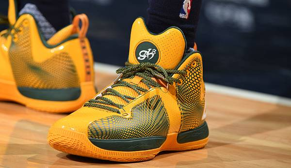 Auch George Hill hat seinen Signature Shoe: Den Peak Monster GH3