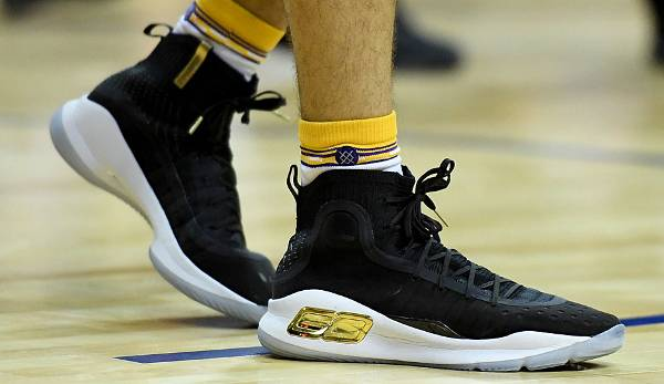 In der Summer League war Ball auch mit den Under Armour Curry 4 von Superstar Steph Curry aufgelaufen