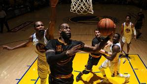LeBron James und seine Cavaliers unterlagen in den NBA-Finals 2017 den Golden State Warriors