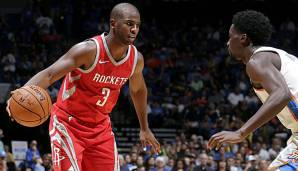 Chris Paul gab sein Debüt für die Houston Rockets